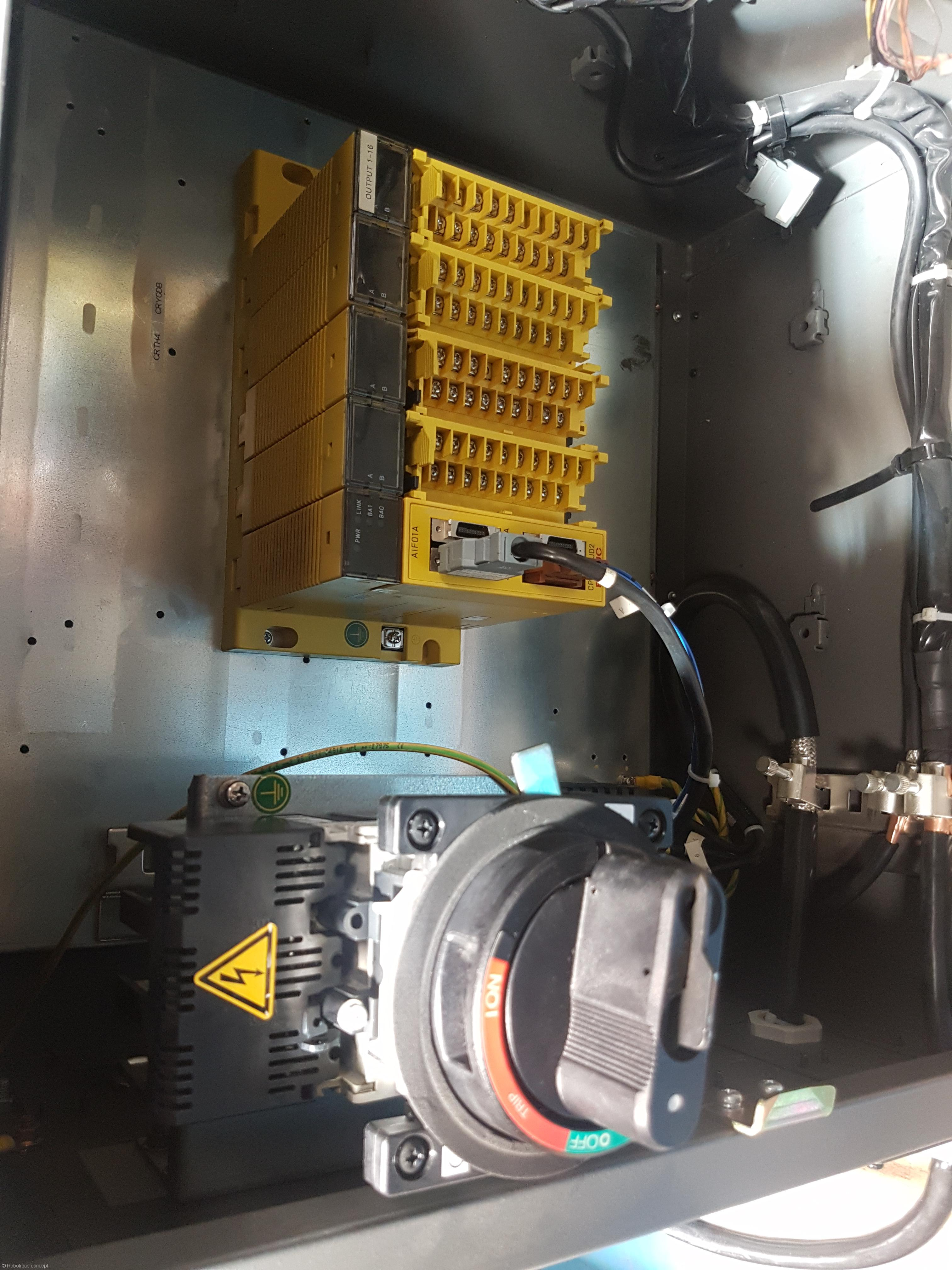 2012 FANUC R1000iA/80 with R30ia small size cabinet – Robot